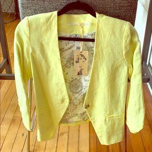 Nordstrom's Yellow Blazer - Never Worn!